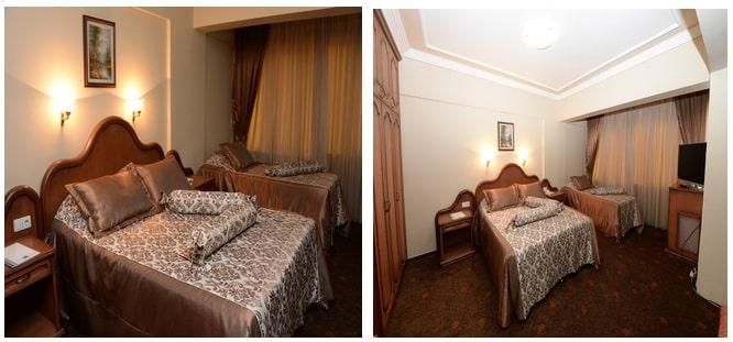 2 kişilik yataklı oda