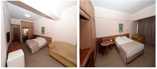 ek bina çift kişilik oda